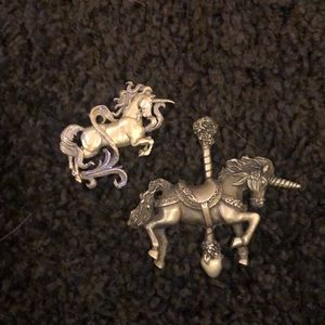 Unicorn pins!
